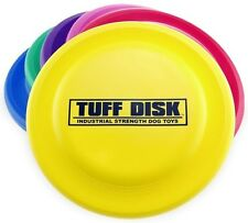 Petsport USA Tuff Disk Dog Toy Assorted Colors