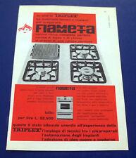 A594-Advertising Pubblicità-1960-FIAMMETTA TRIPLEX - STUFE