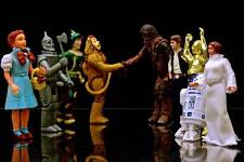 Old Photo. Toy Action Figures Meeting - Wizard of Oz