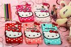 Cute Hello Kitty Soft Silicone Case For iPhone/Sony/Samsung Galaxy/Moto/HTC/LG