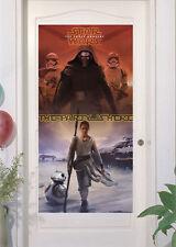Star Wars The Force despierta El Fiesta Es Aquí PUERTA PANCARTA Decoración De Cumpleaños