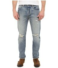NWT Levi's 501 CT Mens Button Fly Destroyed Jeans Tapered Original Fit 40 x 30