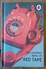Red tape A Ladybird Book Retro Adults Fun humour joke gift New