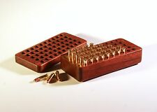 50 Rd 22 LR Walnut Ammo Box .22 Long Rifle remington marlin colt ruger s&w