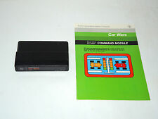 CAR WARS cartridge & manual TI-99/4A Texas Instruments game