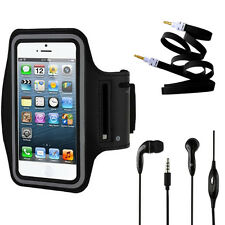 Armband Black Case 2X, Stereo Kit for Samsung Galaxy Note 3.