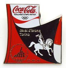 Pin Spilla Olimpiadi Torino 2006 - Coca-Cola Puzzle Bottiglia M