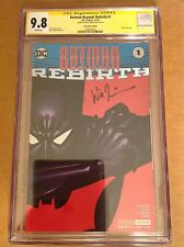 CGC SS 9.8 Batman Beyond: Rebirth #1 foil variant signed by Will Friedle