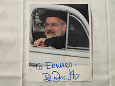 Dr Demento **Autographed Photo** Radio Show Fan Club Signed To Edward/Ed Car Hat