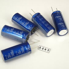 1pcs Original new ELNA capacitors 7400UF 35V Blue robe audio capacitance