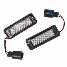 VW 18 LED License Number Plate Lamps Bulbs 7000k Xenon White OEM Replacement