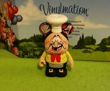 "DISNEY Vinylmation 3"" Park Set 1 Chef Louis Food Wine Festival Little Mermaid"