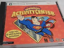 1997 Gryphon SUPERMAN ACTIVITY CENTER CD-ROM video game
