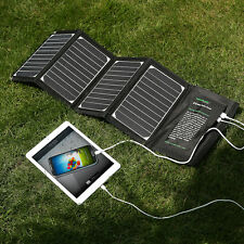 Poweradd 20W Dual USB Solar Panel Charger For Samsung iPhone Andriod Tablets PC