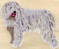 Large Embroidered Zippered Tote - Komondor I1086