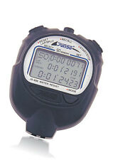 JUNSD Digital Stopwatch(606) - 3 Line Big LCD Panel - 50 Lap Split Memory
