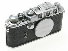 TANACK IV-S LTM LEICA TYPE M39 SCREW MOUNT RANGEFINDER 35mm FILM CAMERA CHROME