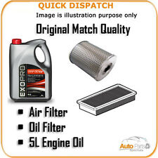 AIR OIL FILTERS AND 5L ENGINE OIL FOR ALFA ROMEO 156 2.4 2003-2006 3351