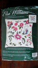 "Elsa Williams RICAMO CREWEL KIT ""Lacy CORNUCOPIA Cuscino/Cuscino"" 14""x14"""