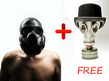 "Vintage unused Soviet gas mask ""PBF"" Get one white GP 5 for FREE Size 2 Medium"
