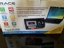 GRACE TAPE2USB CASSETTE CONVERTER MODEL GDI-T2USB Digital Audio