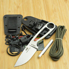 ESEE Izula 440C Stainless Drop Point Fixed Blade Knife With Kit Izula-SS-Kit