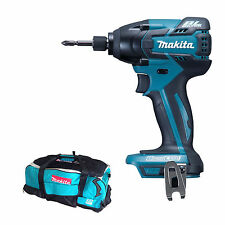 MAKITA 18V LXT BTD129 NEW BRUSHLESS IMPACT DRIVER AND DK18027 TOWABLE BAG