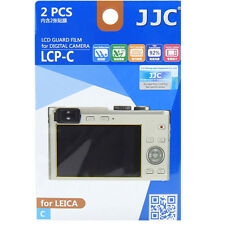 JJC LCP-C Ultra Hard Polycarbonate LCD Guard Film Screen Protector Cover Leica C