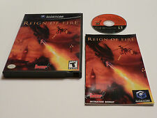 +++ REIGN OF FIRE Nintendo Gamecube Game COMPLETE CIB +++
