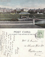 1906 THE PARK BEXHILL ON SEA SUSSEX COLOUR POSTCARD