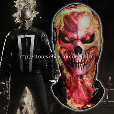 Ghost Rider Motorcycle mask Halloween mask Cosplay ghost face 3D skull facce