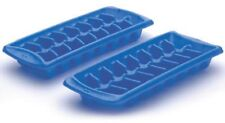 Rubbermaid 2879-RD-PERI Blue Plastic Ice Cube Trays Two Trays dishwasher safe