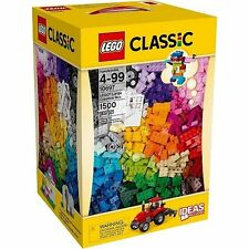 NEW Lego Box Large Creative Classic Brick 10697 Building Set + Bouns Minifig