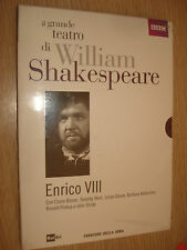DVD N°14 ENRICO VIII IL GRANDE TEATRO DI WILLIAM SHAKESPEARE BLOOM WEST GLOVER