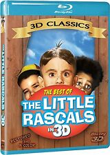 BEST OF LITTLE RASCALS OUR GANG IN 3D BLU RAY 3D! NEW! SPANKY, BUCKWHEAT, PORKY