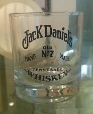 Collectible Jack Daniel's Hand Made Old No. 7 Glass