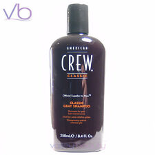 AMERICAN CREW Classic Gray Shampoo 250ml (Graying Bleached Blond Hair, Toning)