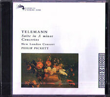 Telemann Recorder concerto Philip Pickett New London Consort CD L'Oiseau-Lyre 92