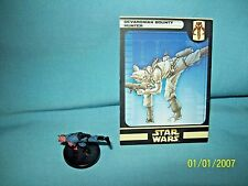 WotC Star Wars Miniatures Devaronian Bounty Hunter, Clone Strike 51/60, Frng,Com