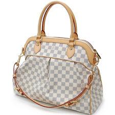 """Louis Vuitton Damier Azur """"Special Order"""" Trevi GM Handbag *Very good Very Rare!"""