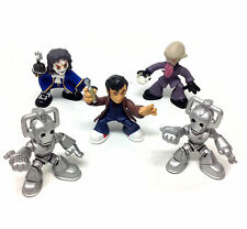 DR WHO PLAYSKOOL TIME SQUAD Pre school toy figures lot, Rare Villains