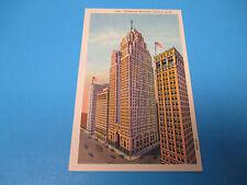 Penobscot Building Detroit Mich Unused Vintage Color Postcard PC25