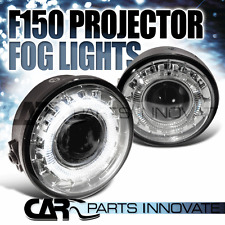2006-2008 Ford F150 Clear Halo Rim Projector Fog Lights Bumper Lamps