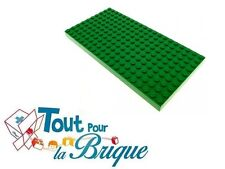 LEGO Plaque VERT GREEN Plate 10 x 20  Occasion Lot x1