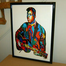 Blind Willie Johnson: Blues Guitar Player: Singer: Guitarist Gospel POSTER w/COA