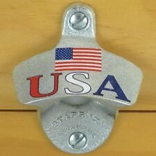 USA Flag Patriotic Starr X Wall Mount Bottle Opener NEW