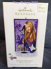 Hannah Montana Miley Cyrus Musical 2008 Christmas Ornament NEW