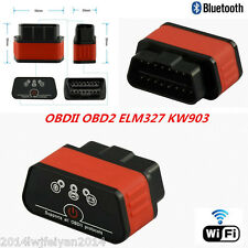 ELM327 OBDII OBD2 KW903 WiFi Car SUV Diagnostic Scanner Bluetooth Auto Scan Tool