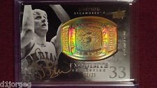 Larry Bird 2011 Upper Deck  Exquisite Collection Championship Bling Auto 31/35