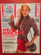 ELLE 30/05/2009 - Sophie Marceau Monica Bellucci Fondation Elle Special Mode Eté